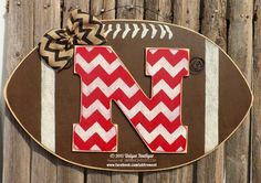 Hey, I found this really awesome Etsy listing at https://www.etsy.com/listing/229336886/wood-nebraska-huskers-football-n-door