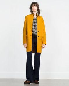 Image 1 of WOOL COAT from Zara