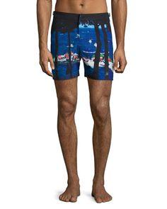 Orlebar+Brown+Bulldog+Tuscan+Tanning+Mid+Length+Swim+Trunks+|+Swimwear+and+Clothing