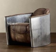 Cool way to upcycle an old sportscar seat