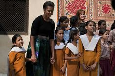 OUR FIRST LADY MICHELLE OBAMA VISIT TO CHINA