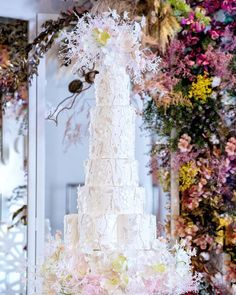 Im so honored to have this collaborative #weddingcake design featured on @weddedwonderland site. This design's romantic embroidery and… Tall Wedding Cakes, Luxury Wedding Cake, Beautiful Wedding Cakes, Wheat Wedding, Cake Trends, Wedding Cake Inspiration, Wedding Cake Designs, Cake Art, Amazing Cakes