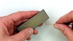 making-higher-quality-wire-jewelry-knife-sharpening-stone