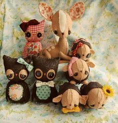 Love this girl's work, one day I will buy a little creature from her