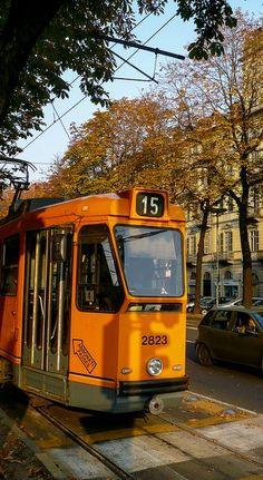 Corso Re Umberto.. Turin, Italy (by bautisterias on Flickr)