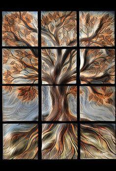 Ceramic Art Tile artwork