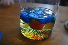 Ice and Oil - adapt for 5th grade states of matter...