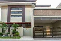 2 storey modern design Modern Design, Garage Doors, Outdoor Decor, Projects, Home Decor, Log Projects, Blue Prints, Decoration Home, Room Decor