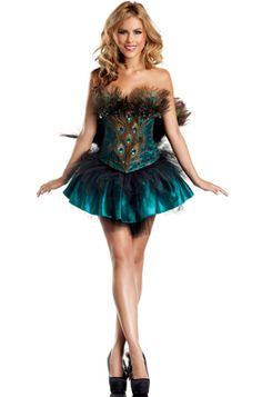 Princess Peacock Adult Costume #Halloween #costumes #peacock #burlesque