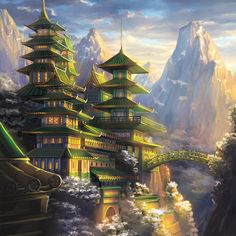 Fortified Monastery of the Dragon by Alayna on DeviantArt
