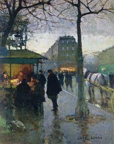 『プーシキン美術館展』夜明けのパリ ルイジ・ロワール