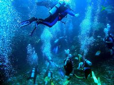 Montezuma is a relatively remote area, with a tremendous amount of sealife in its waters, so needless to say that Scuba Diving is a popular activity here. http://www.montezumabeach.com/scuba-diving-in-montezuma/ #scubadiving #costarica