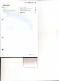 Instrukcja Obsługi Radia samochodowego RCD 200
