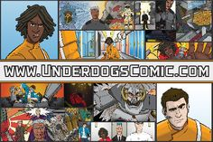 Underdogs: First Postcard.  First hand out I did, the back.