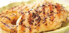 Ingredients Makes:4 servings Cook:12 minutes 46-ounce boneless, skinless chicken breast halves 2teaspoons extra-virgin olive oil, Bertolli® 21⁄2teaspo
