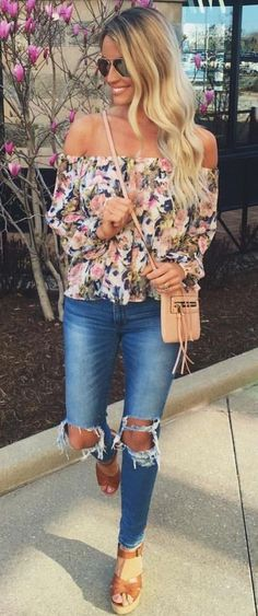 Cute Outfit Idea for Girly