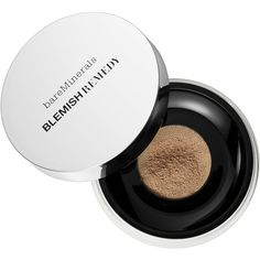 bareMinerals bareMinerals Blemish Remedy Foundation (£17) ❤ liked on Polyvore featuring beauty products, makeup, face makeup, foundation, mineral powder foundation, bare escentuals, powder foundation, bare escentuals foundation и mineral foundation