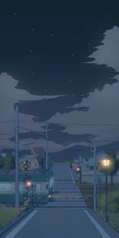Anime Scenery Wallpaper, Aesthetic Pastel Wallpaper, Cute Wallpaper Backgrounds, Wallpaper Iphone Cute, Aesthetic Backgrounds, Cute Wallpapers, Aesthetic Wallpapers, Aesthetic Japan, Night Aesthetic