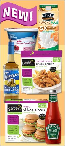 We spotted TONS of amazing new products on shelves this year!  Check 'em out NOW and make your shopping list!