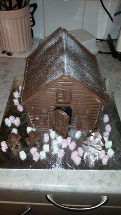 House made of chocolate!