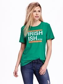 Relaxed St. Patrick's Day Graphic Tee
