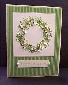simple floral wreath