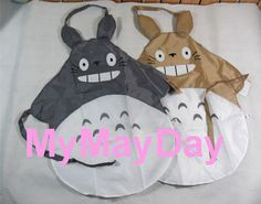 My Neighbor Totoro Adult Kitchen Apron Cooking Japan Anime Cute Gift New RARE V1 | eBay