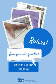 Ruler work is a quick way to make a quilt spectacular but it can be intimidating. The most important thing to remember is safety. The last thing you want is to hear the heart sickening sound of the hopping foot crunching on Plexiglas while using your APQS longarm quilting machine.