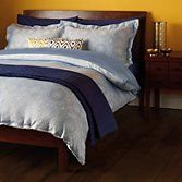 John Lewis Persia Duvet Cover and Pillowcase Set, Blue at John Lewis