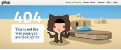 git 404 page