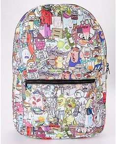 Rick and Morty Backpack - Spencer's