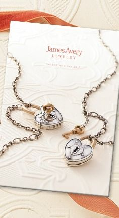 Our new Valentine's Day catalog is here! #JamesAvery
