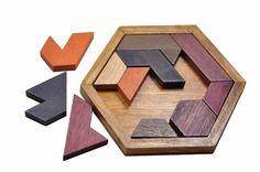 Wood Geometric Shape Educational Puzzle - Goodyy Woodyy