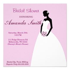 Soft Bridal Shower Invitation