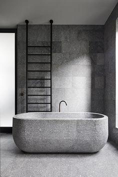 Bathroom by B. Architecture Hampden Road Residence in Australia - Bathroom Granite - Ideas of Bathroom Granite - Bathroom by B. Architecture Hampden Road Residence in Australia Interior Modern, Bathroom Interior Design, Interior Architecture, Australian Architecture, Contemporary Architecture, Modern Luxury, Modern Rustic, Bad Inspiration, Bathroom Inspiration