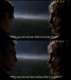 Ivy and Lucius; The Village by M. Night Shyamalan. Such fierce and courageous love in this movie