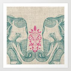 Together4ever Art Print by rskinner1122 - $18.00