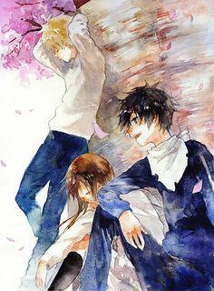 Yukine, Hiyori and Yato