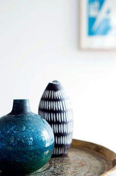 Lys bylejlighed: Enkel stil med arvemøbler - Boligliv