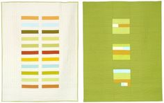 minimalist graphic quilts