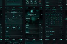 Orbit SciFi UI Kit by Nice To Must Have