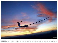 Fotokalender Segelfliegen: Segelflug Bild Kalender von Claus-Dieter Zink