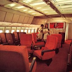 27 best vintage airplane interiors images airplane interior rh pinterest com