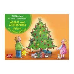 Advent und Weihnachten mit Emma und Paul Bildkarten