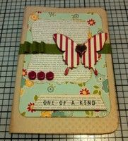 Definitely one of a kind...  pretty card by tsteytler