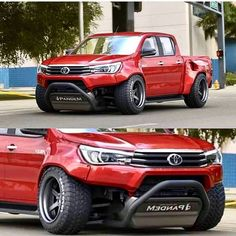 Custom Trucks, Custom Cars, Pickup Camping, Dropped Trucks, Toyota Trucks, Mini Trucks, Truck Design, Toyota Hilux, Modified Cars