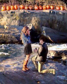 Fall wedding proposal