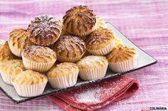 Receita de Queijadas de coco. Descubra como cozinhar Queijadas de coco de maneira prática e deliciosa com a Teleculinária!