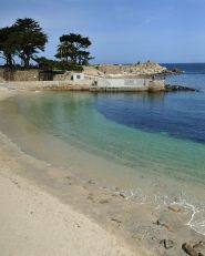 Lover's Point Park  #Monterey #California #Travel   I had to run this a few times for training, beautiful run tho!