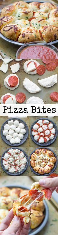 Skip the pizza delivery! Enjoy these easy cheesy pepperoni Pizza Bites hot and - Delivery Food - Ideas of Delivery Food - Skip the pizza delivery! Enjoy these easy cheesy pepperoni Pizza Bites hot and fresh from the oven. You'll want to double the batch! Fingers Food, Pizza Bites, Snacks Für Party, Pizza Delivery, Delivery Food, Appetizer Recipes, Appetizers, Love Food, Food To Make